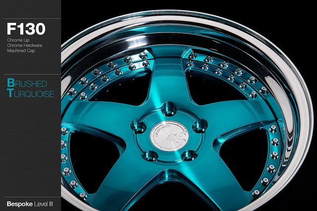 B3-Brushed Turquoise-F130