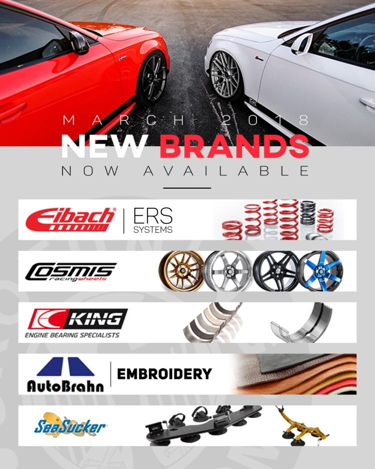 February New Brands